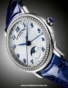Raymond Weil Lady Maestro Moonphase automatic ladies watch (Ref. 2739 LS3 05909)