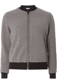 Petite Quilted Jersey Bomber
