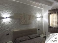 #MyLAS Welcome to this italian #home! #bedroom #design #homeinspiration #interiors http://www.laserartstyle.it/home/gallery/my-las/ SACRED WALL SCULPTURES   CODE: SI-201   SIZE: 150x74 cm   COLOUR: cream - brown engraving