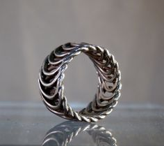 Hallmarked Sterling Silver Ring. Size 6. by DanPickedMinerals, $64.00