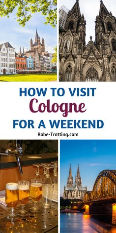 Click here for the ultimate guide to a city break in Cologne, Germany. It's packed with things to do in Cologne, what to eat in Cologne, where to find the best Cologne Instragram spots and Cologne hotel suggestions. This Cologne city guide is full of insider travel tips and advice for planning your own Cologne itinerary #Cologne #Germany #TravelEurope #Europe #Wanderlust European Travel Tips, Europe Travel Guide, European Vacation, Travel Guides, Germany Destinations, Travel Destinations, Best Places To Travel, Cool Places To Visit, Euro Travel