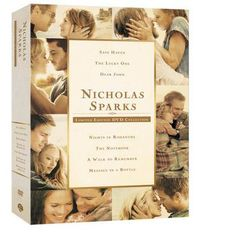 I want this!!!     Nicholas Sparks: Limited Edition Collection (DVD) |  WBshop.com | Warner Bros.