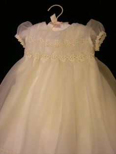 Melissa's Custom Christening or Baptism Gown by BertasBoutique