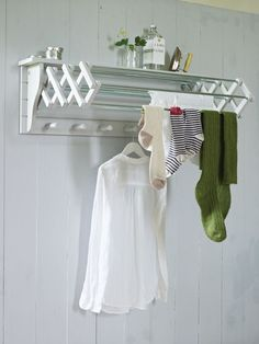 Idea for the laundry room drying rack?