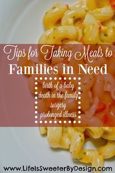 Helping others by providing a meal after someone has a baby, a death in the family, a surgery or long illness can be a real blessing! Find out how to make helping others easier on yourself too! - Another! Dinners To Make, Quick Meals, Food To Go, Good Food, Funeral Food, Take A Meal, Meals On Wheels, Thing 1, Frozen Meals