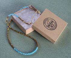 gold & teal sunglass chains | eyeglass holders | croakies | glasses chain | brillenkette | eye glass chain | eyeglass necklace | gift