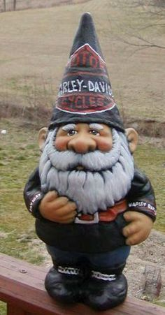 Harley Gnome will have to get my daddy for Christmas!