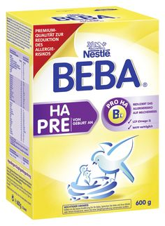 BEBA HA Start Pre Hypoallergene Anfangsnahrung- von Geburt an, 6er Pack (6 x 600 g)