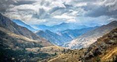 Sometimes, I encounter a few sights that just drown all my words for them....this was one of them, atop a hill in Queenstown, New Zealand.  Any comment are highly appreciated.  Thanks for taking your time to view this!