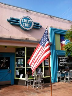 crest cafe, San Diego.  Featured on Diners, Drive-Ins & Dives.  Recommended for breakfasts, steak sandwich.