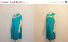 45 OFF Vintage Nightgown and Robe Deep by 2sweet4wordsVintage, $27.49  #vintagnightgown #vintagelingerie #vintagelingerieteam #satinfetish