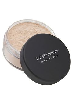 BareMinerals' Hydrating Mineral Veil is a classic for a reason. The finely milled loose powder is packed with vitamins and minerals that have a brightening effect on the skin. And, we swear, it never looks cakey. BareMinerals Hydrating Mineral Veil, $22, available at Ulta. #refinery29 http://www.refinery29.com/multitasking-face-powder#slide-4