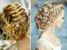 shabby chic bridal hairstyles with veil - Google Search