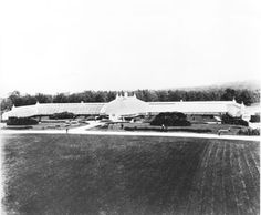The famed greenhouse at Lyndhurst. Photo courtesy of Lyndhurst Collection, Westchester County Historical Society