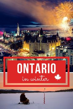 Overcome cabin fever this winter in Ontario by partaking in some of these iconic Canadian experiences. Ontario Camping, Ontario Travel, Toronto Travel, Backpacking Canada, Canada Travel, Solo Travel, Travel Tips, Travel Ideas, Travel Goals