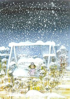 superbes illustr de virpi pekkala - Page 3 Winter Illustration, Children's Book Illustration, Christmas And New Year, Winter Christmas, Art Fantaisiste, Winter Art, Illustrations And Posters, Whimsical Art, Finland
