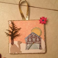 Jesse Tree Advent camel and tent Christmas Stuff, Christmas 2019, Christmas Holidays, Christmas Ideas, Christmas Crafts, Christmas Ornaments, Jessie Tree Ornaments, Later Day Saints, Tree Day