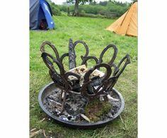 Horse Shoe Fire Pit
