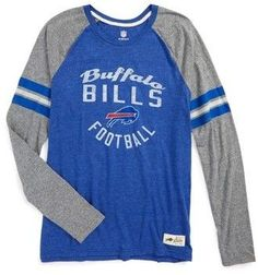 Boy's Outerstuff Nfl Buffalo Bills Distressed Logo T-Shirt