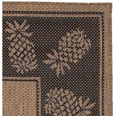 Couristan Recife Tropics Cocoa Indoor/Outdoor Area Rug & Reviews | Wayfair