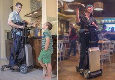 Para a maioria de nós, ficar de pé e caminhar são gestos tão básicos que não conseguimos sequer imaginar como a vida pode ser dura sem tal liberdade. Se as cadeiras de rodas foram o primeiro passo para que paraplégicos recuperassem parte de sua autonomia, o novo lançamento da empresa Matia Robotics parece ser enfim o passo além: um aparelho robótico que permite que a maioria dos paraplégicos fique e se locomova sozinho, e confortavelmente de pé. Trata-se do Tek RMD, que basicamente funciona…