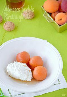 Alter Gusto | Abricots pochés à la verveine & vanille - Ricotta glacée - Alter Gusto