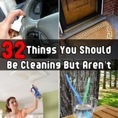 32 Things You Should Be Cleaning But Aren't