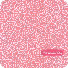 Seaside Cottage Pink Tonal Yardage SKU# 5877-22
