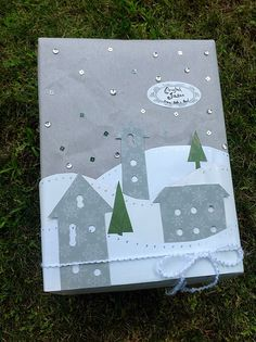 Silver Sparkle and Shine Gift Wrap | by Beth O'Briant.  Follow me at  http://www.pinterest.com/bethob/wrap-it-up-with-a-little-whimsy/