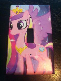 My Little Pony Princess Cadance Light Switch Cover