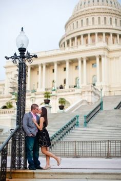 capitol building engagement session katelyn james photography 275x412 Best of 2012: DC Wedding Engagements