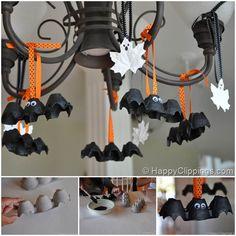Speciale Halloween 10 Idee per Arredare Casa: Pipistrelli da Appendere