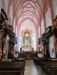 'Sound of Music' Cathedral - Mondsee, Austria
