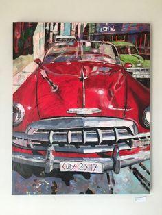 Barbara Piatti, Cuba 2017, huile sur toile. http://webadmin.fr