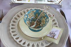 Pretty tea cup #aliceinwonderland #teaparty