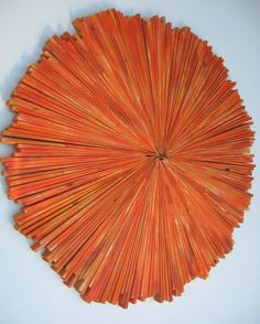Distressed Modern Rustic Round Wood by RusticModernDesigns on Etsy, $424.00