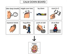Free Visual Cue Card To Download Free Autism Amp Special