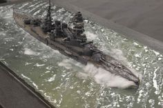IJN Nagato 1/700 Scale Model