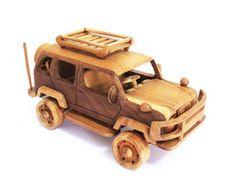 Tanque de juguete de madera en hecho a mano por MoreThanWoodShop