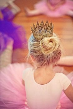 Baby ballerina. Reminds me of my Little Miss C, my bean.