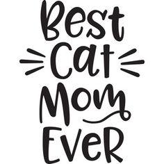 Silhouette Design Store: best cat mom ever