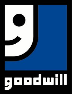 The iconic smiling face is in fact the 'G' in Goodwill zoomed in an cropped slightly. Clever :)