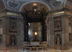 Saint Peter's Basilica Altar in Vatican