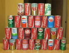 Epic Soda Pop Can Collections