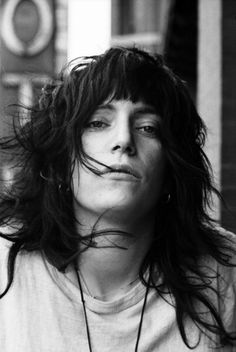 Patti Smith photographed by David Gahr | I love her. She is one of my muses. Not that she knows that.