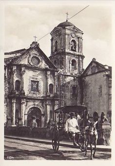 San Agustin Church, Manila. 1955 Philippines Culture, Manila Philippines, Philippine Architecture, Intramuros, Uk Visa, Mindanao, Historical Architecture, Pinoy, Island Life