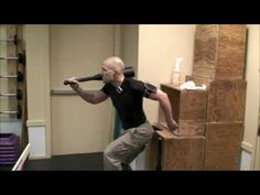 """VIDEO http://www.TACFIT.tv Scott Sonnon demonstrates TACFIT Kickboxer 1D Workout: For Time, Compete 6 Rounds Non-Stop: * 30sec Double Clubbell Swings (70lbs) * 30sec Two-Handed Kettlebell """"Sambo"""" Swing (32kgs) * 30sec Plyometric Hurdle Triple Jump (24inches) * 30sec Jumping Medball Leg Lift (14lbs) * 30sec Two-Handed Clubbel..."""