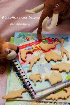 Biscotti senza burro per bambini