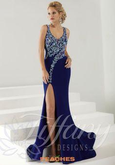 Tiffany prints prom dresses