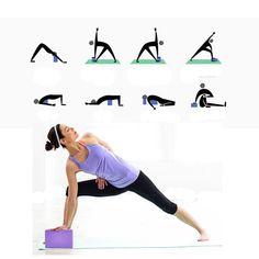 af77ab9c84 Yoga Blocks Set of 2 And D ring strap Yoga set Ecofriendly EVA Foam Yoga  Brick Improve Strength Balance and Flexibility Lightweight Odor and  Moisture ...